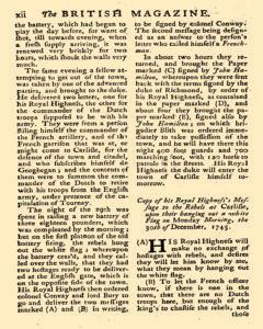 British Magazine, January 01, 1746, Page 11