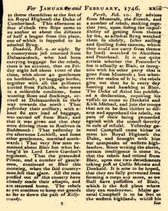 British Magazine, January 01, 1746, Page 22