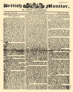 British Monitor, October 17, 1819, Page 1