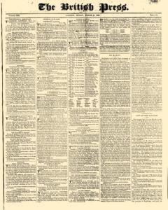 British Press, March 17, 1820, Page 1