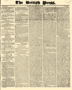 British Press, May 17, 1820, Page 1