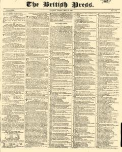 British Press, May 19, 1820, Page 1