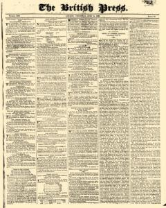 British Press, June 15, 1820, Page 1