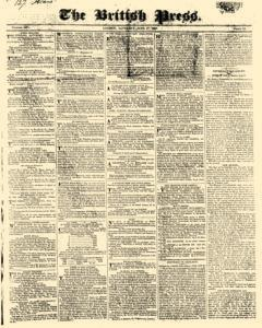 British Press, June 17, 1820, Page 1