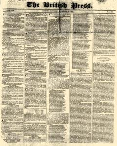British Press, September 23, 1820, Page 1