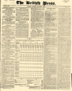 British Press, October 14, 1820, Page 1