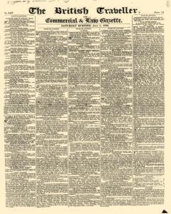 British Traveller And Commercial And Law Gazette, July 07, 1832, Page 1