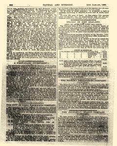 Capital and Interest, January 11, 1886, Page 10