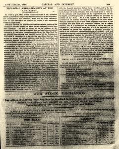 Capital and Interest, January 11, 1886, Page 5