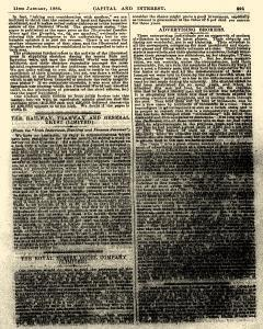 Capital and Interest, January 11, 1886, Page 11