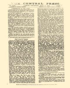 Central Press, April 09, 1874, Page 1