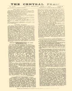 Central Press, April 09, 1874, Page 5