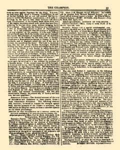 Champion and Review, January 10, 1819, Page 7