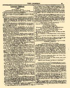 Champion and Review, January 10, 1819, Page 15