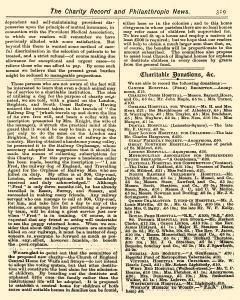 Charity Record and Philanthropic News, October 06, 1881, Page 9
