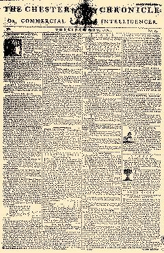 Chester Chronicle Or Commercial Intelligencer, April 25, 1776, Page 1