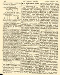 Christian Cabinet And Chronicle
