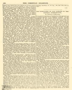 Christian Examiner and Advocate of Civil Liberty, February 01, 1847, Page 6