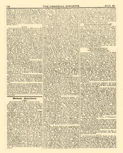 Christian Reporter, April 25, 1821, Page 4