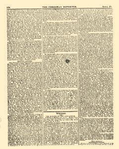 Christian Reporter, April 25, 1821, Page 6