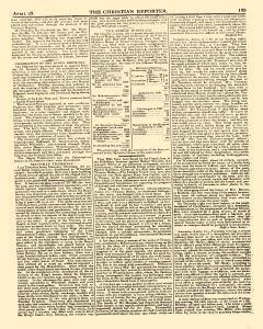 Christian Reporter, April 25, 1821, Page 5