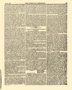 Christian Reporter, April 25, 1821, Page 7