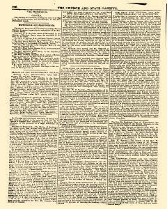 Church And State Gazette newspaper archives