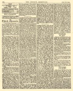 Church Chronicle and Clerical Advertiser