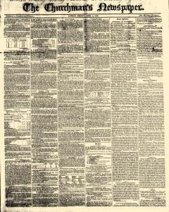 Churchmans Newspaper, April 04, 1845, Page 1
