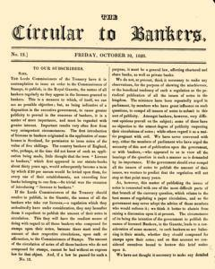 Circular To Bankers newspaper archives
