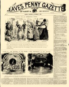 Cleaves Penny Gazette, November 06, 1841, Page 1