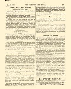 Colonies And India, January 08, 1890, Page 27