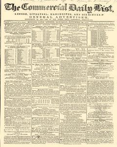 Commercial Daily List, November 30, 1861, Page 1