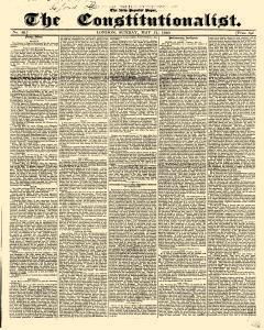 Constitutionalist, May 31, 1840, Page 1