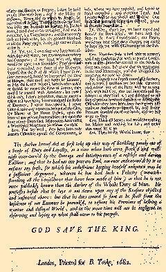 Continuation of Special and Remarkable Passages, August 22, 1682, Page 2