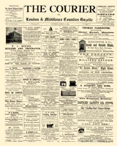 Courier And Middlesex Counties Courier Gazette, August 17, 1889, Page 1