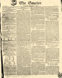 Courier, February 01, 1806, Page 1