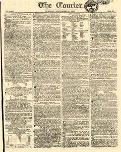 Courier, September 09, 1806, Page 1