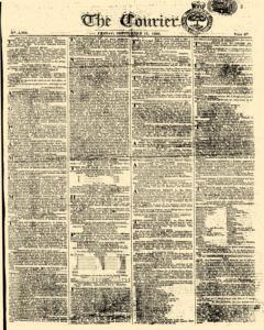 Courier, September 12, 1806, Page 1
