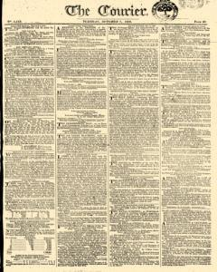 Courier, October 07, 1806, Page 1