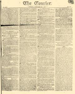 Courier, January 13, 1809, Page 1