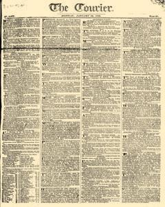 Courier, January 16, 1809, Page 1