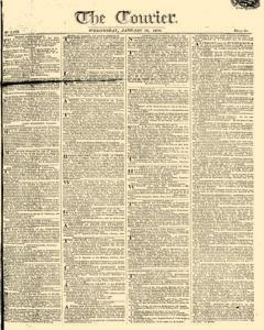 Courier, January 18, 1809, Page 1