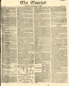 Courier, January 23, 1809, Page 1