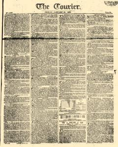Courier, January 27, 1809, Page 1