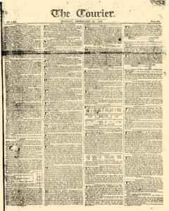 Courier, February 13, 1809, Page 1