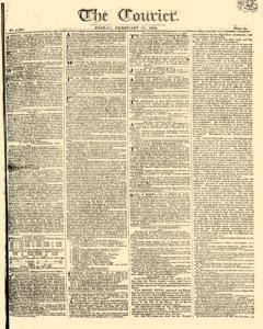 Courier, February 17, 1809, Page 1
