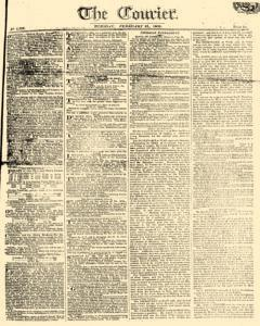 Courier, February 21, 1809, Page 1