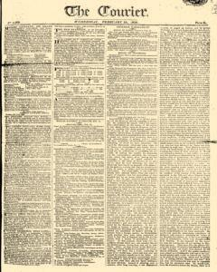 Courier, February 22, 1809, Page 1