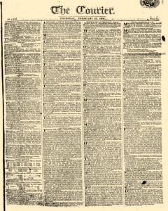 Courier, February 23, 1809, Page 1